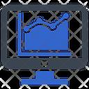 Graph Monitoring Report Icon