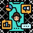 Advertisement Mobile Phone Icon