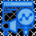 Megaphone Website Technology Icon