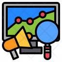 Megaphone Technology Growth Graph Icon