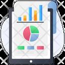 Data Analysis Data Analytics Marketing Report Icon