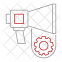 Marketing Automation Digital Icon