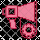 Marketing Automation Bullhorn Icon