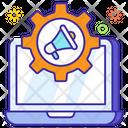 Marketing Automation Online Marketing Megaphone Icon