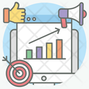 Marketing Campaign Advertising Publicity Icon