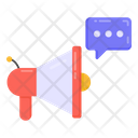 Promotion Chat Marketing Chat Promotional Conversation Icon
