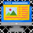 Marketing Content Content Management Icon
