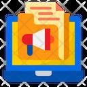 Marketing Content Folder Advertising Icon