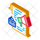 Business Contract Loudspeaker Icon