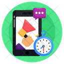 Marketing Time Limited Time Offer Mobile Marketing Icon
