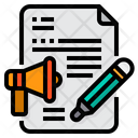 File Plan Marketing Icon