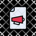 Marketing File Icon