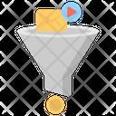 Marketing Funnel Step Icon