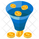 Funnel Analysis Marketing Funnel Data Funnel Icon