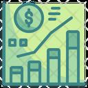 Marketing Graph Advertising Benefit Graph Marketing Icon