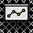 Marketing Graph Marketing Graph Icon
