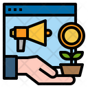 Website Megaphone Growth Icon
