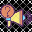 Iannouncment Question Mark Marketing Help Annoucement Help Icon