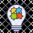 Marketing Idea Puzzle Icon