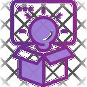 Idea Creative Outofthebox Icon