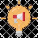 Idea Megaphone Advertising Icon