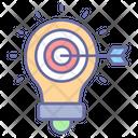 Marketing Idea Lightbulb Creativity Icon