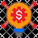 Marketing Idea Finance Idea Config Icon