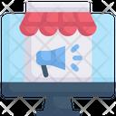Internet Marketing Marketplace Shopping Icon