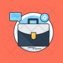 Marketing Management Briefcase Icon