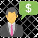 Business Communication Talk Icon