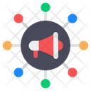 Marketing Network Publicity Network Promotion Network Icon