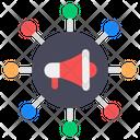 Marketing Network Icon