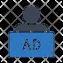 Marketing Person Icon