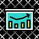 Marketing Presentation Business Presentation Business Report Icon