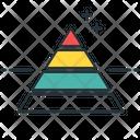 Marketing Pyramid Pyramid Graph Icon