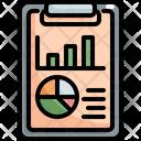 Clipboard Chart Graph Icon