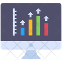 Marketing Report Growth Growth Traffic Icon