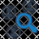 Marketing Analysis Research Icon