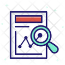 Marketing Research Analysis Marketing Icon