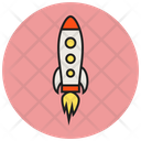 Marketing Rocket Icon