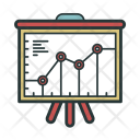 Marketing Schedule Analytics Icon