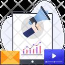 Marketing Analysis Marketing Services Online Promotion Icon