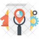 Seo Strategy Marketing Icon
