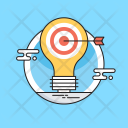 Marketing Strategy Idea Icon