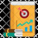 Book Business Graph Icon