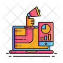 Marketing Tech Achievement Digital Icon