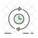 Marketing Time Estimation Time Clock Icon