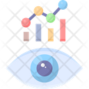 Marketing Vision Eye Graph Icon