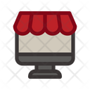 Black Friday Commerce Online Shop Icon