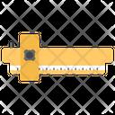 Vernier Caliper Construction Tool Scientific Instrument Icon